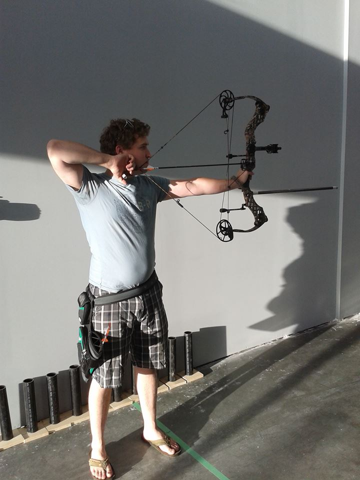 Wyld Archery's first shooter!